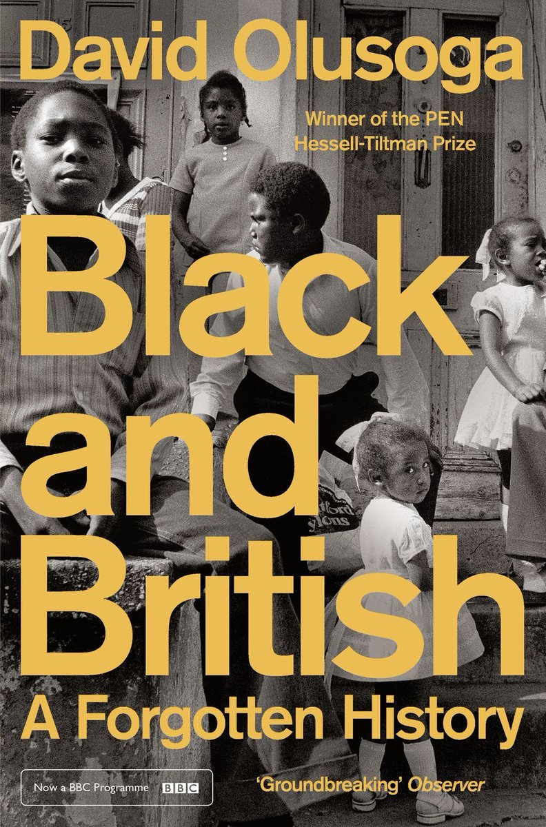 The compelling #BlackAndBritish: A Forgotten History by @DavidOlusoga is currently being repeated on @BBCFOUR every Monday at 8pm. For more, you can find his @englishpen award-winning book here