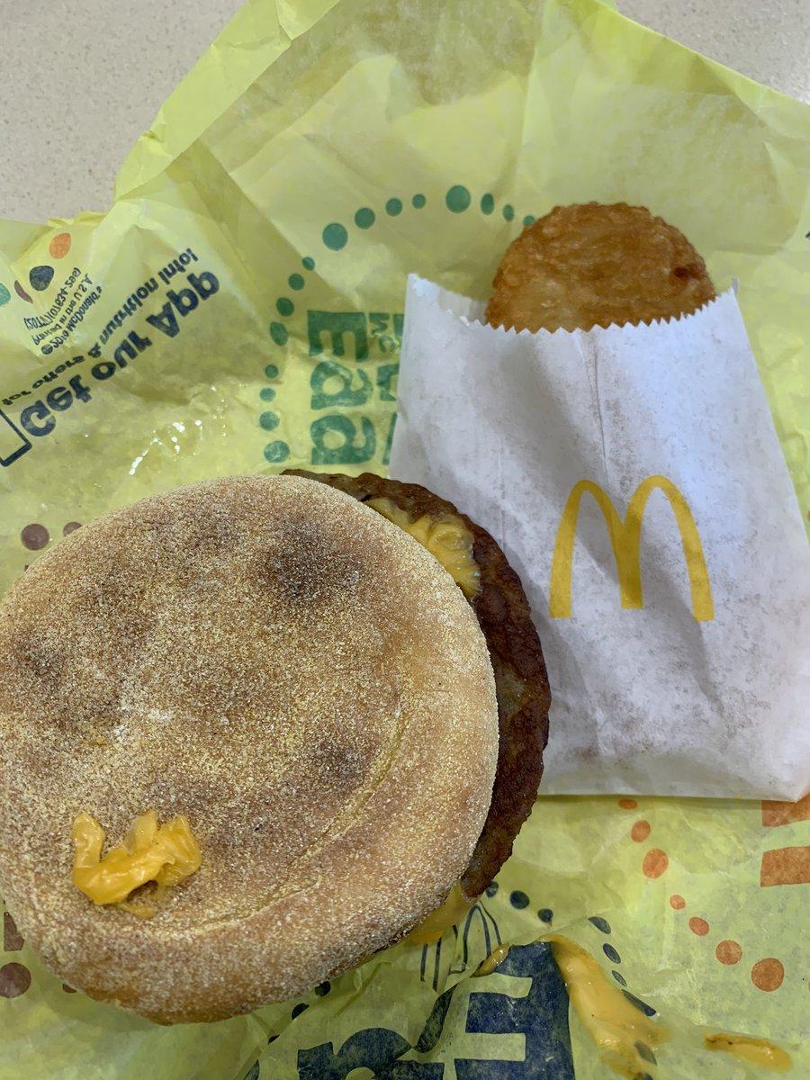 Cops don't deserve McDonald's