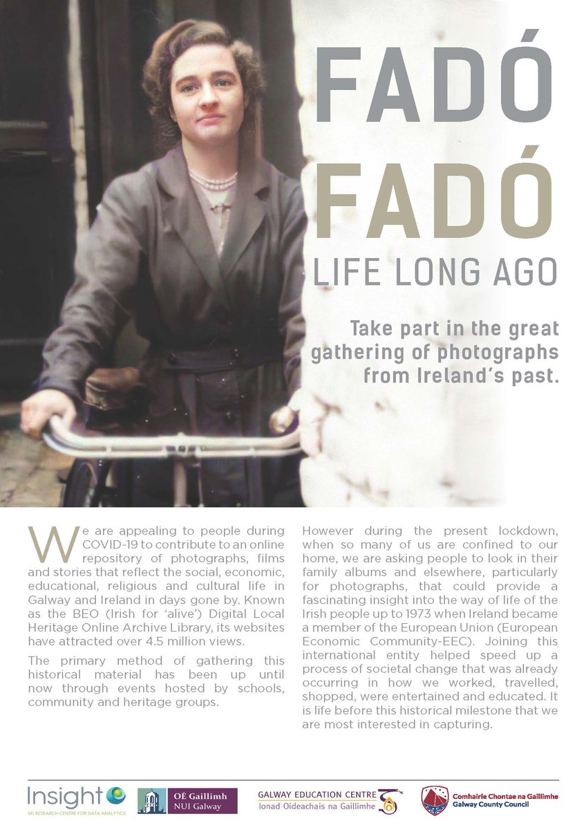 FADÓ FADÓ - Gathering of Photos from Ireland's Past #Galway #Gaillimh