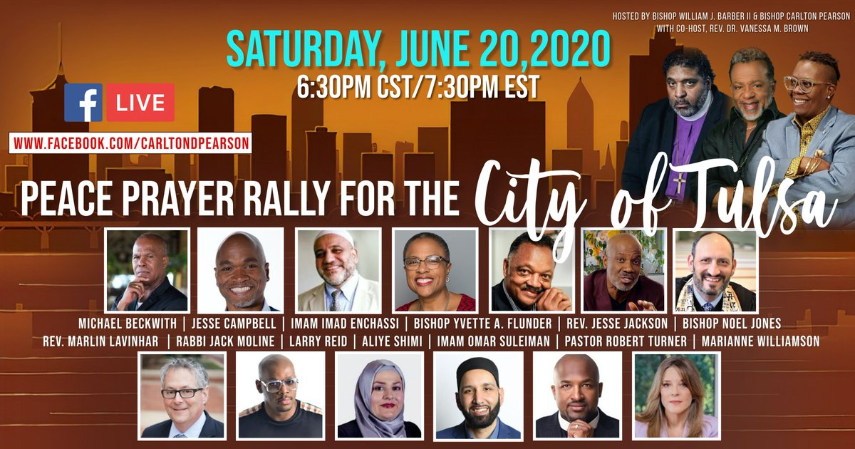 Peace Prayer Rally for the City of Tulsa