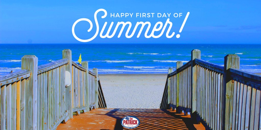 Although our plans may look a little different this year, there are still so many ways to enjoy the Texas sunshine while also keeping you and your family safe. Stay safe, stay prepared. Happy #FirstDayOfSummer, Texas! ☀️ https://t.co/YMssTTw1y3