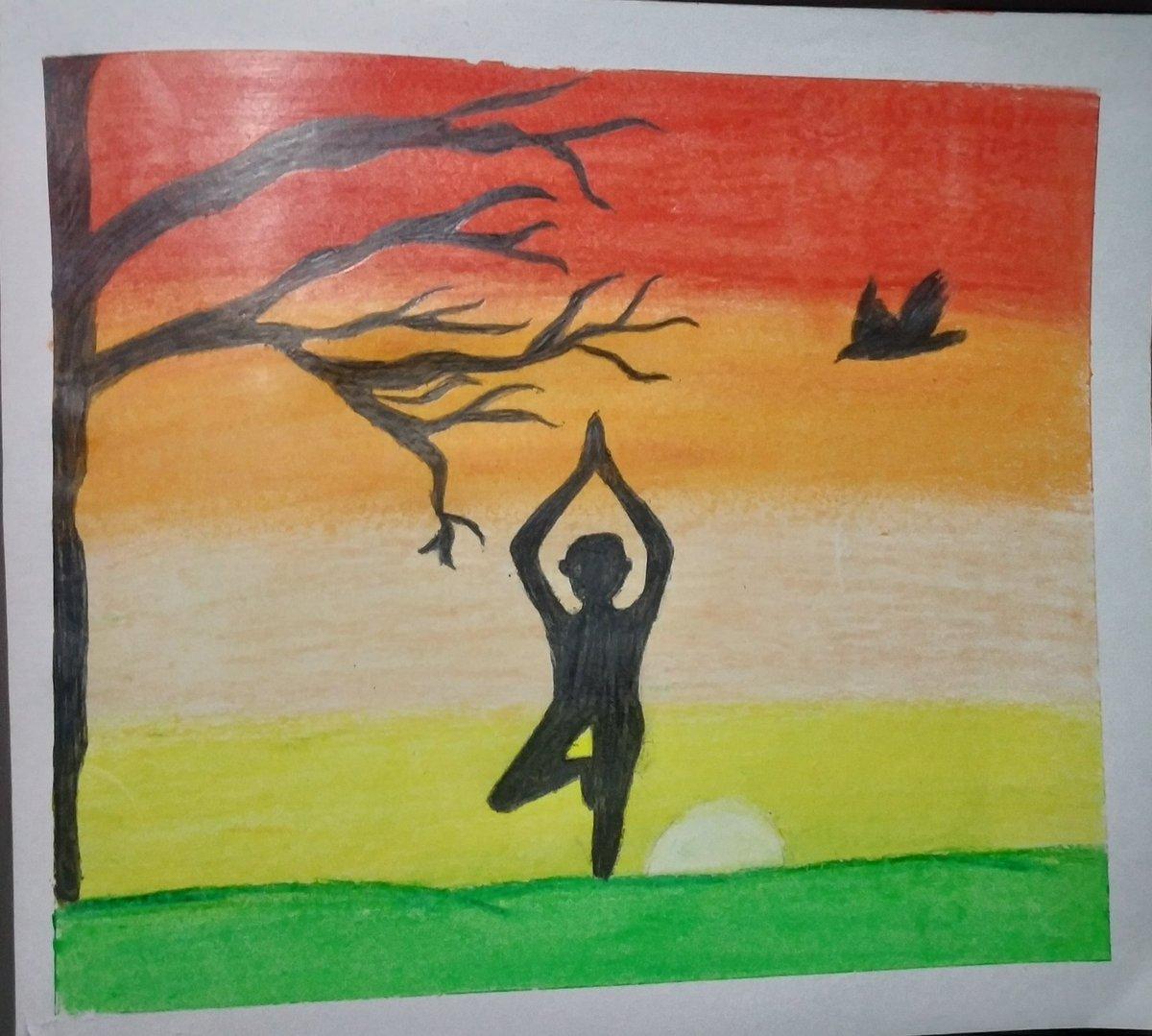 Shikha Bandral On Twitter Happy International Yoga Day To All Internationalyogaday2020