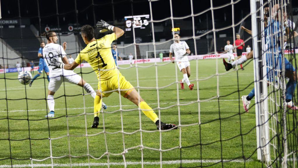 Με δυο γκολ που επιτεύχθηκαν και μέτρησαν με τη συνδρομή του VAR, κι ένα ακόμα στο τέλος του αγώνα, o ΠΑΟΚ ανέτρεψε το εις βάρος του 0-1 και πήρε αγχωτική νίκη επί του ΟΦΗ με 3-1 https://t.co/eQMOLlemif https://t.co/ieyZ0ViGiz