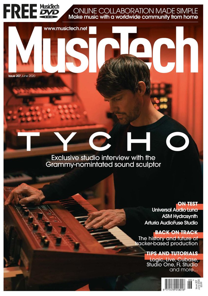 Talked process and technology recently with @MusicTechMag . Full article here https://t.co/0Ew5mLsoRi https://t.co/WXeKOZjpBp