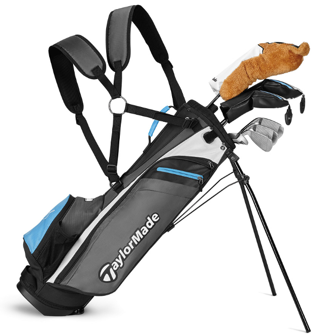 Win TaylorMade Golf and @McIlroyRory Junior clubs!  👍 LIKE this tweet 👉 FOLLOW @GOLFPASS and @TaylorMadeGolf 📸 Drop a pic of you and your favorite junior golfer out on the course! Be sure to use #BreakingJuniors and @GOLFPASS.  We'll announce the random winner on Friday 6/26! https://t.co/R3DEuS1xYH