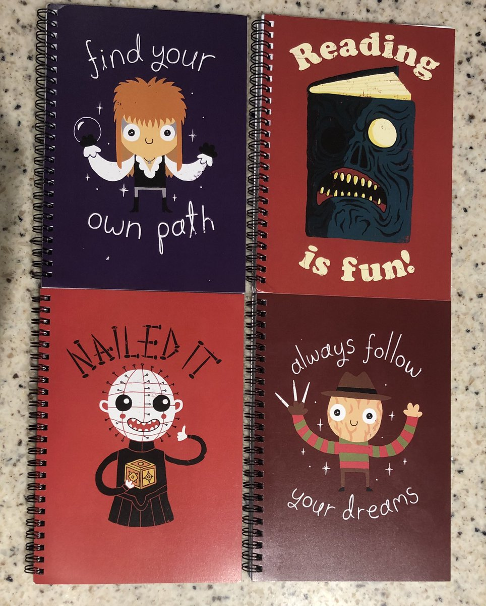 The arrival of these notebooks brought me the joy that I needed today 🖤 Guess which one is for you, @SfinnFinn!