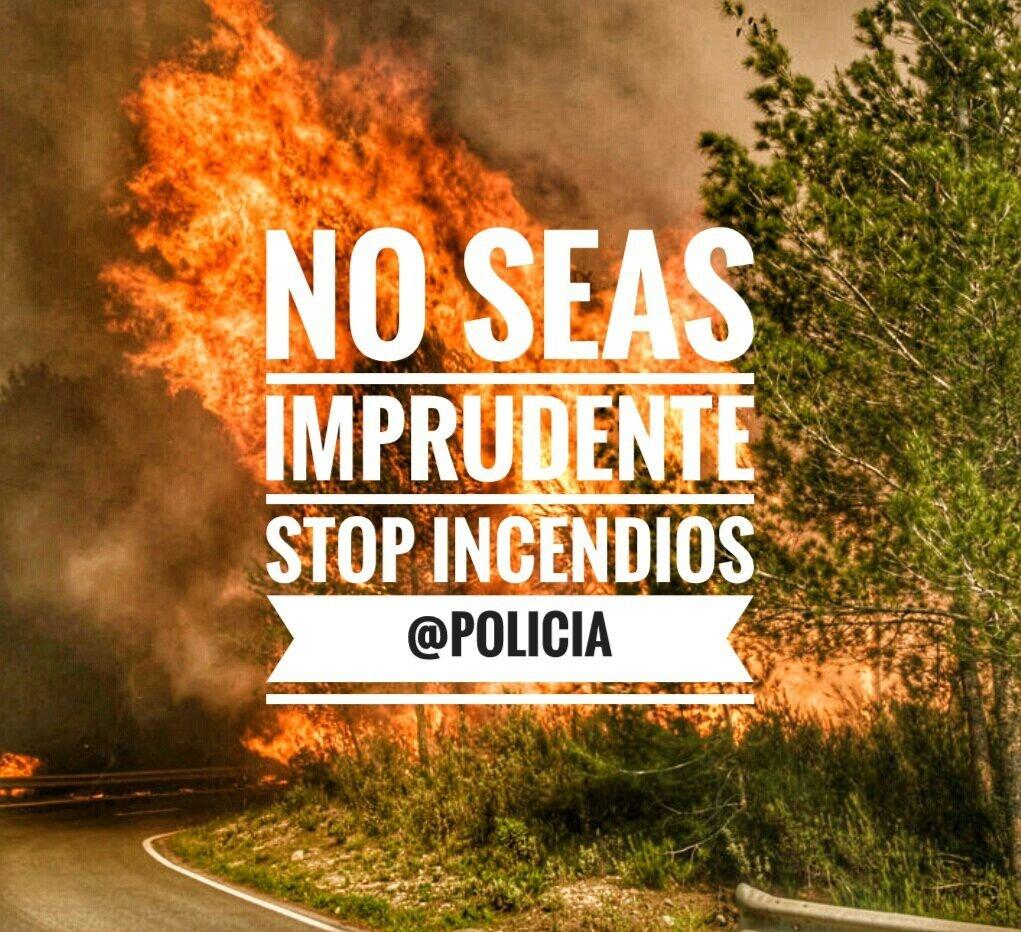 Nuestro #MedioAmbiente no puede pagar las consecuencias de tu imprudencia.   #StopIncendios #Responsabilidad https://t.co/3Vc4d8QcAX