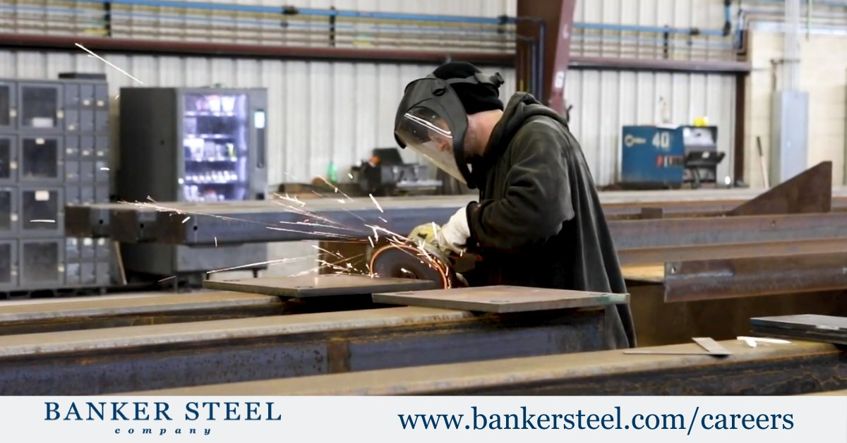 Our employees utilize years of experience to bring intricate structures to life. Forge a lasting career in the steel industry, cultivate life-long skills by joining our team! See what careers we have available and become a Banker Steel True Professional: buff.ly/2Z8w1t5