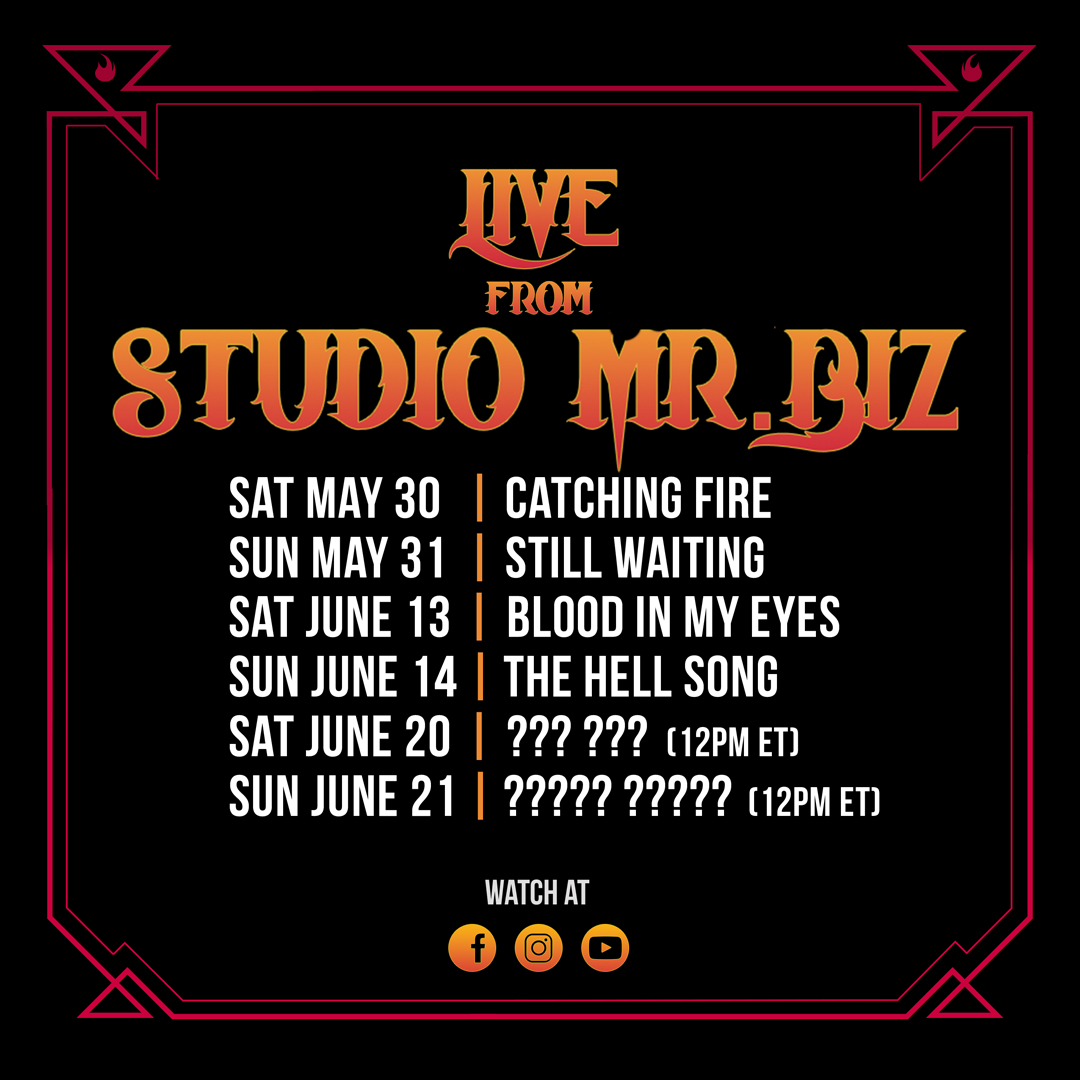 Live from Studio Mr. Biz   Upcoming Events  https://t.co/ZI6w76hCz3 https://t.co/LcBF9Fxv7X