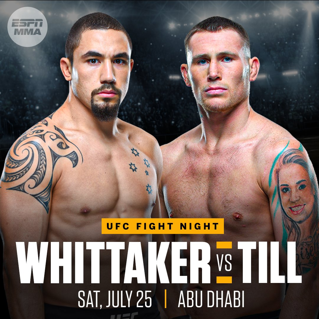 Till has been asking and Whittaker answered the call to meet on Fight Islannd. https://t.co/srYnNJfzVD