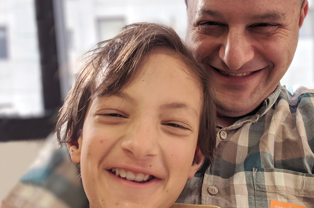 Jeff is father to childhood cancer survivor Micah. Although Micah is now NED (no evidence of disease), health risks are always present and Jeff's fear won't fade. Efforts to #DFYchildhoodCancers have given him the gift of time with his son. Read his story: https://t.co/4ovzLi8nds https://t.co/TGV4AGUdwf