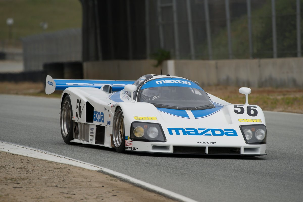 Tomorrow's episode of #MazdaMotorsports Moments will also feature a look into the design philosophy behind a few of Mazda's classic race cars. Stay tuned. #TBT #RolexReunion https://t.co/1d6BAJeefW