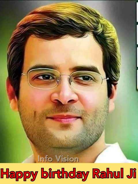 Happy birthday Rahul Gandhi !!
