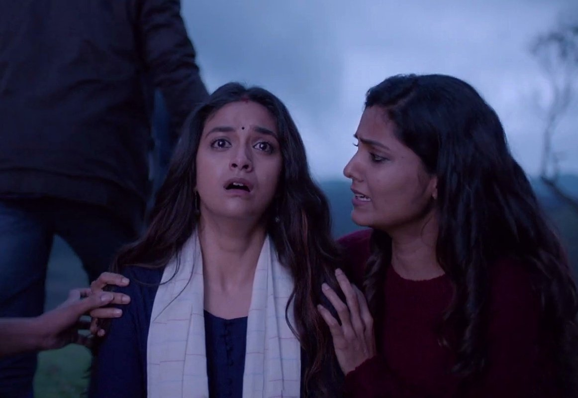 #Penguin Emotionaly Connected @EashvarKarthic loved ur script  Thrilling @Music_Santhosh bgm  And last your performance  Remembered those  #Mahanati days  #Rythm n #syrus  remembered #nyke  Climax lo chala yedipinchav papa Can't stop my tears at last #Penguinpic.twitter.com/eJ23gddaYf