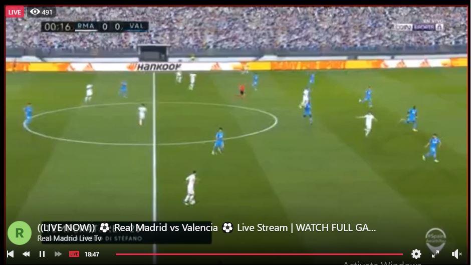 DIRETTA STREAMING !!  Real Madrid VS Valencia  #RealMadr َ idValencia  LIVE MOBIL1   GO LIVE >>   #HalaM َ adrid