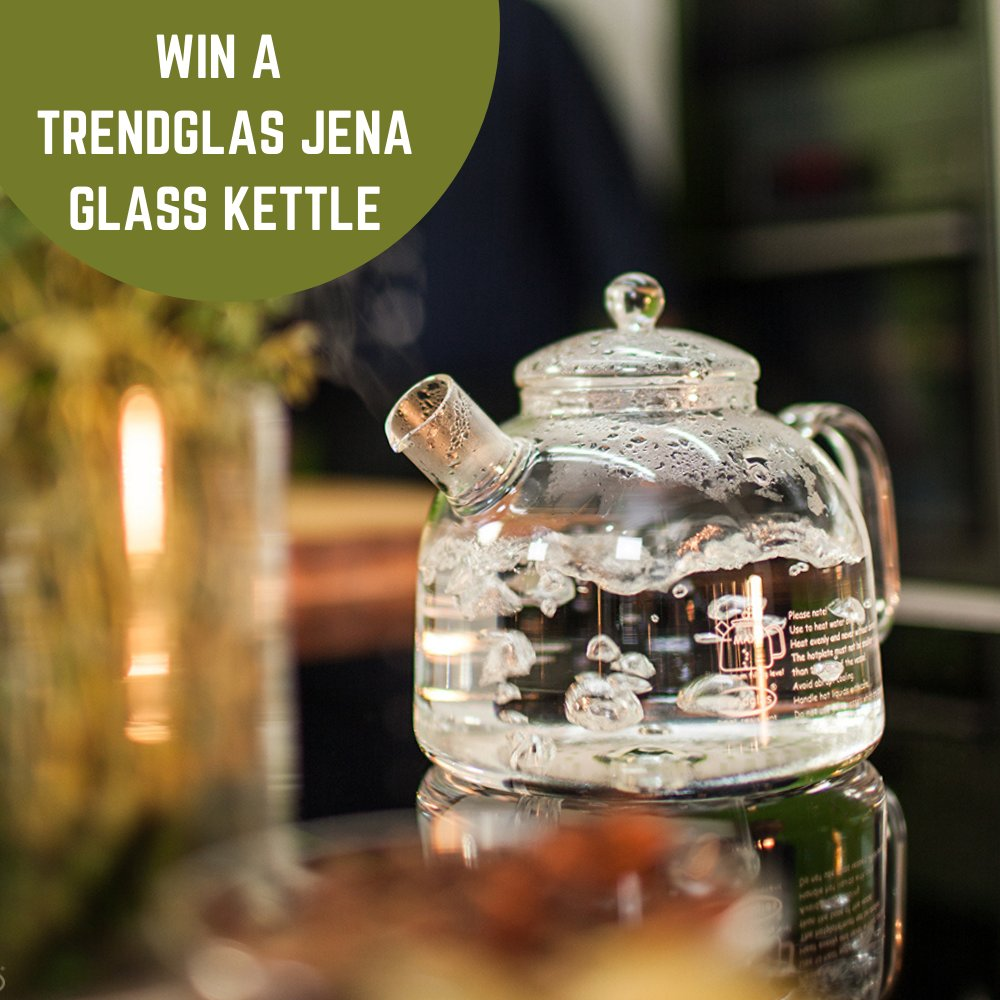 #Competition Win a Trendglas JENA kettle $44!  Enter & #RT for a chance to #win:  https://t.co/1JtPPCRVWf sponsored by Unseen Select @SelectUnseen  https://t.co/Nw25MthUBX #latte #drink #herbaltea #detox #coffeetime #coffeelover #kitchenware