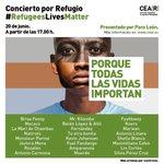 Aquí puedes comprar tu entrada para el concierto solidario de este Sábado.  @CEARefugio    https://t.co/4TcQrGeXTu