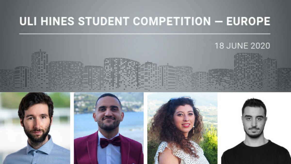 A team from Politecnico di Milano have been crowned the winners of the inaugural ULI Hines Student Competition - Europe!  Well done to all of the teams that have competed in today's tightly contested final.  Read more: https://t.co/xdmVQ80s0Z https://t.co/8i33iRhAYb