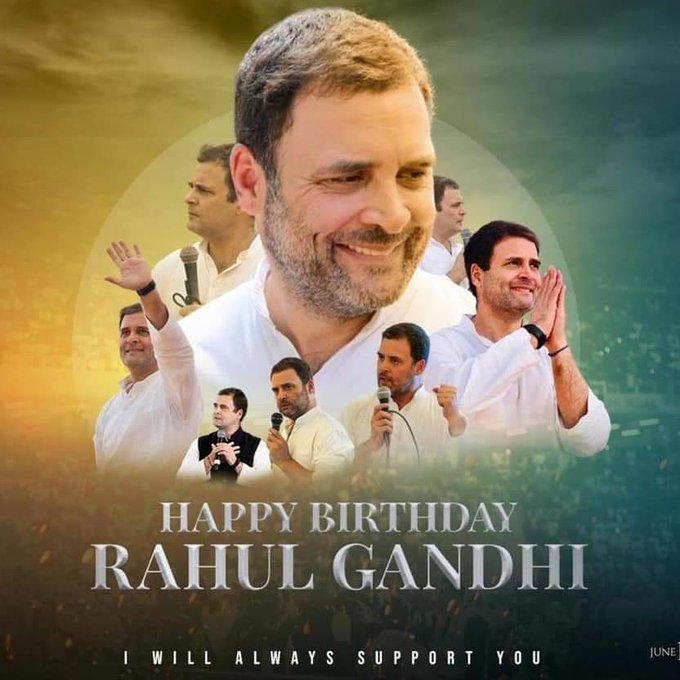 HAPPY BIRTHDAY RAHUL GANDHI. G
