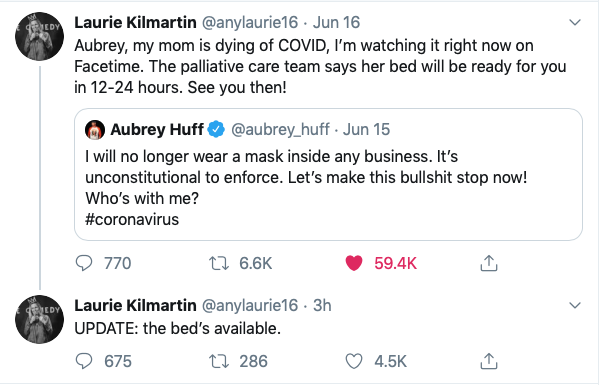 This is the most hardcore, sad, funny, angry, heartbreaking clapback I've ever seen. @anylaurie16