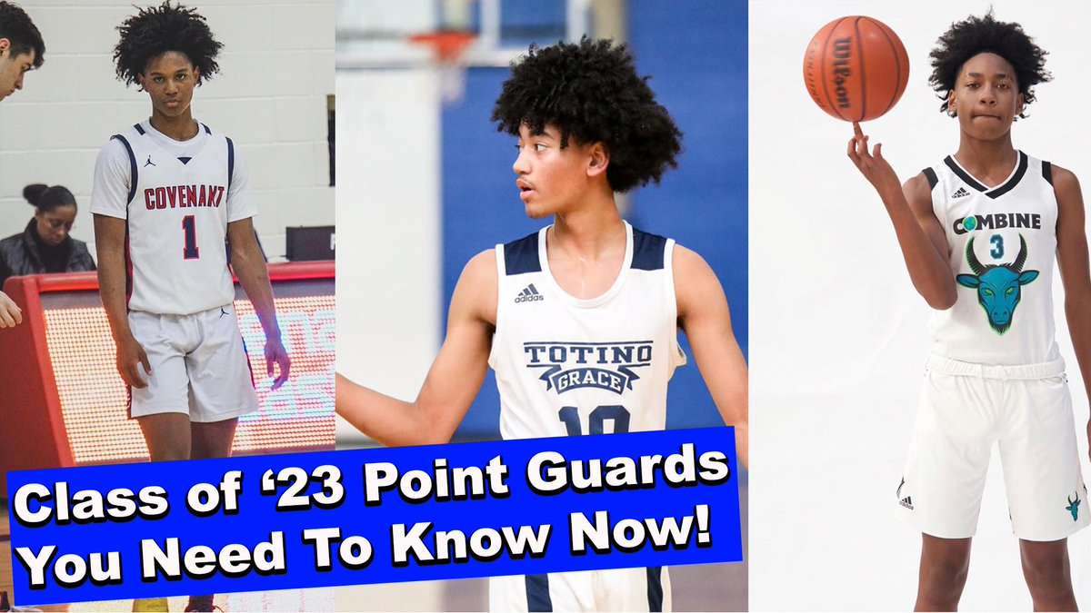 Six class of '23 Point Guards to watch for now. Ft Aden Holloway, Taison Chatman, Robert Dillingham, Kanaan Carlyle, Isaiah Collier and Kylan Boswell. https://t.co/5KhBcamCoB https://t.co/gGvGpRD3kv