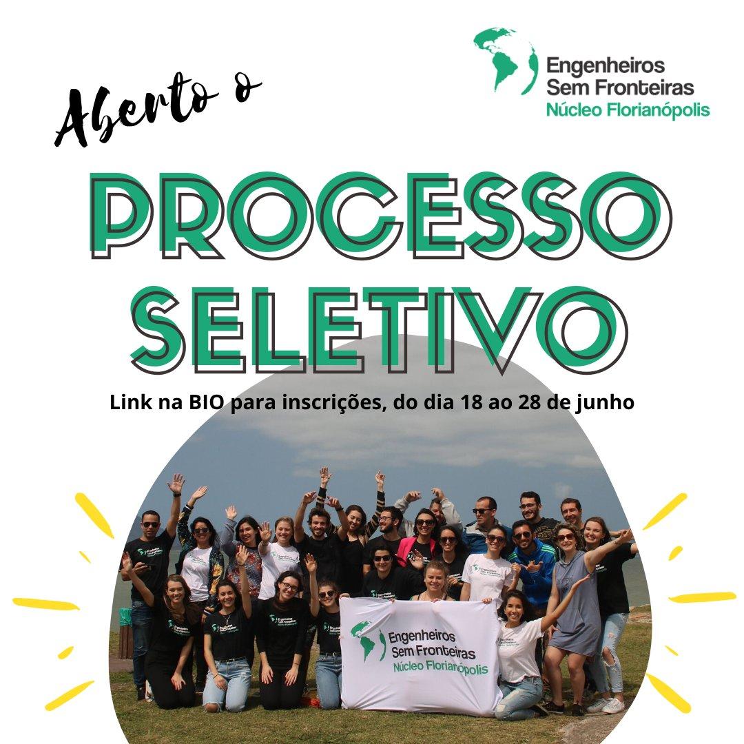 Aberto o processo seletivo para o time de Marketing do ESF Núcleo Florianópolis! Acesse o link para se inscrever: https://t.co/TBDuslh0Kp https://t.co/eWhRexMJA1