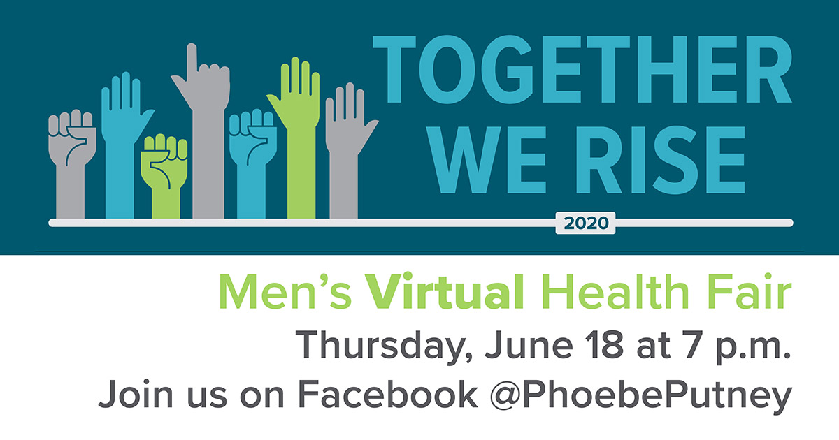 We are LIVE with our Men's Virtual Health Fair. Join us on our Facebook page! https://t.co/bKiCJMeNLL