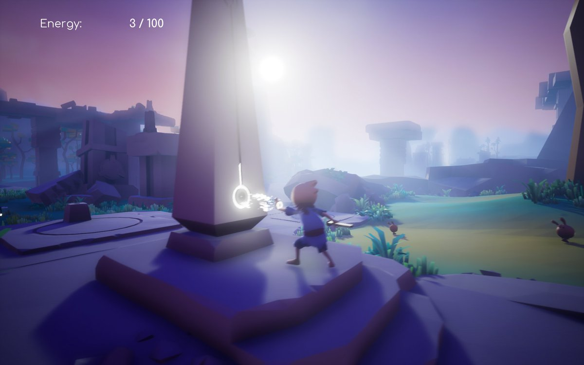 #Omno is also a 3D platformer but with more emphasis on exploration and puzzles. I think I was down on it because it was exactly the same as last year and I had just gone through a game with lots of falling-to-my-death. https://t.co/IU2t3CvoeD