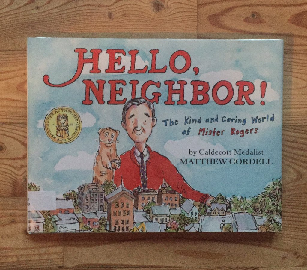 Angela J Reynolds On Twitter It S Like Cordell Watched That Mr Rogers Movie And Turned It Into A Book For Kids It S A Good Biography And A Good Subject Picturebookpile Https T Co Kkpsn8lljy