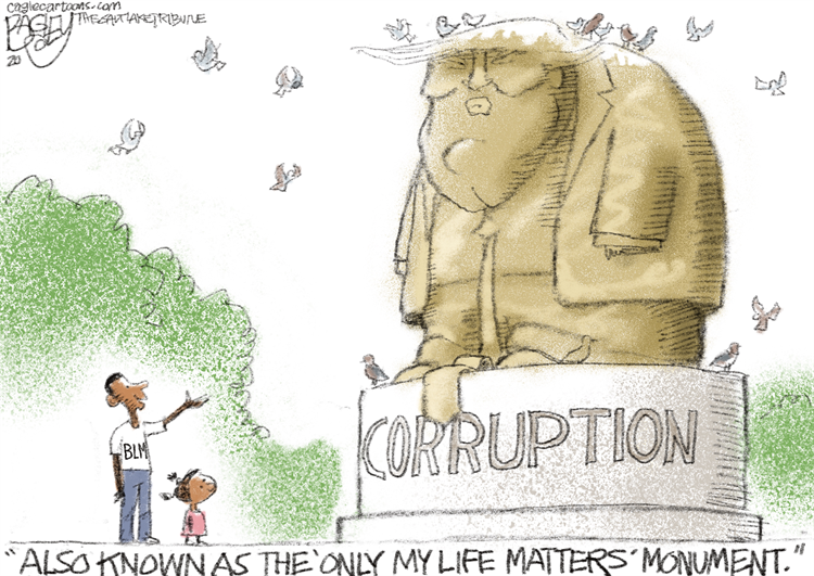 See my favorite cartoons about the #BoltonBook   This is by Pat Bagley Subscribe for free: https://t.co/Q9T1TWi9rw Support the Cartoonists: https://t.co/zUIYTIAbVg  #BoltonsBook #BoltonShouldHaveTestified #BoltonIsATraitor #JohnBolton #JohnBoltonFailedAmerica https://t.co/xJ1NYzySHR