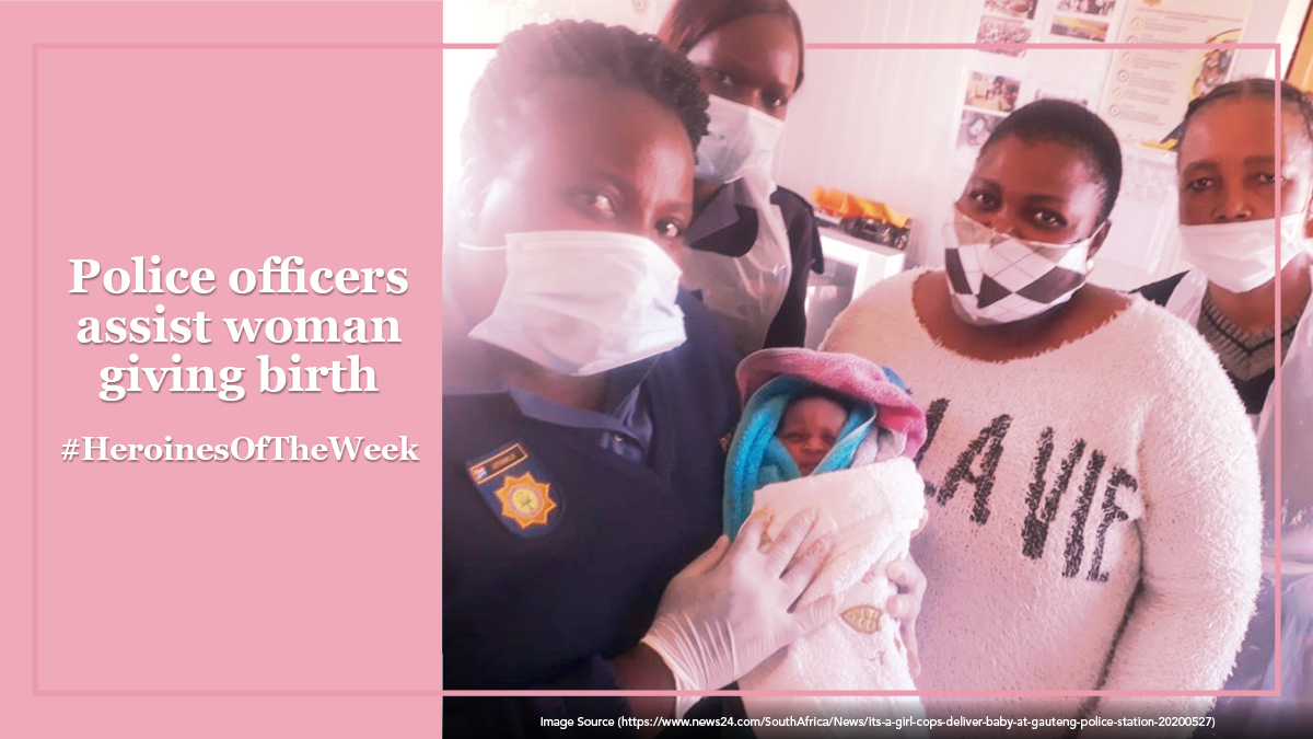 Talk about going far beyond the call of duty… these incredible police officers helped a woman deliver her baby, in the police station! We're proud to call them our #HeroinesOfTheWeek. Nominate the women in your life who inspire you & they could be featured next! https://t.co/DXzW7P8wRl