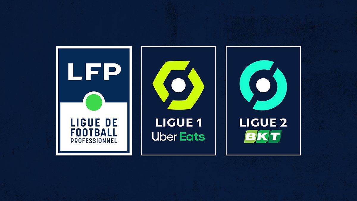 Nouveaux logos de la Ligue 1 et de la Ligue 2