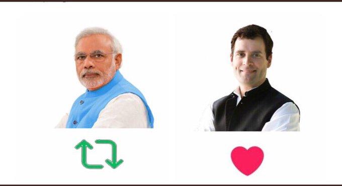 Happy birthday Mr. Rahul Gandhi ji. Lets give him hearts on this birthday.