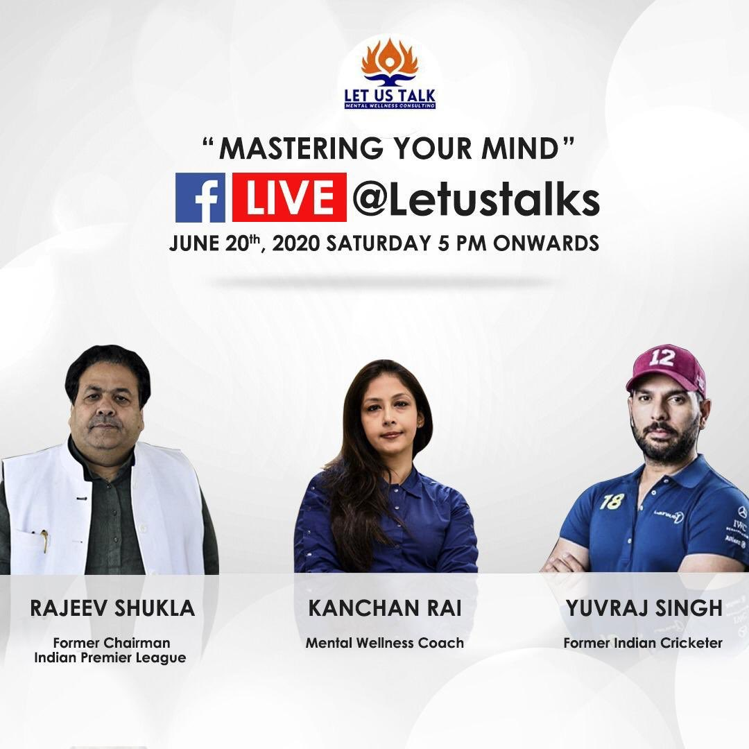 Looking forward to this engaging interaction with @ShuklaRajiv ji and @LetUsTalks as we discuss various aspects of mental wellness along with insights related to mastering one's own mind. https://t.co/dTaYexTfx3