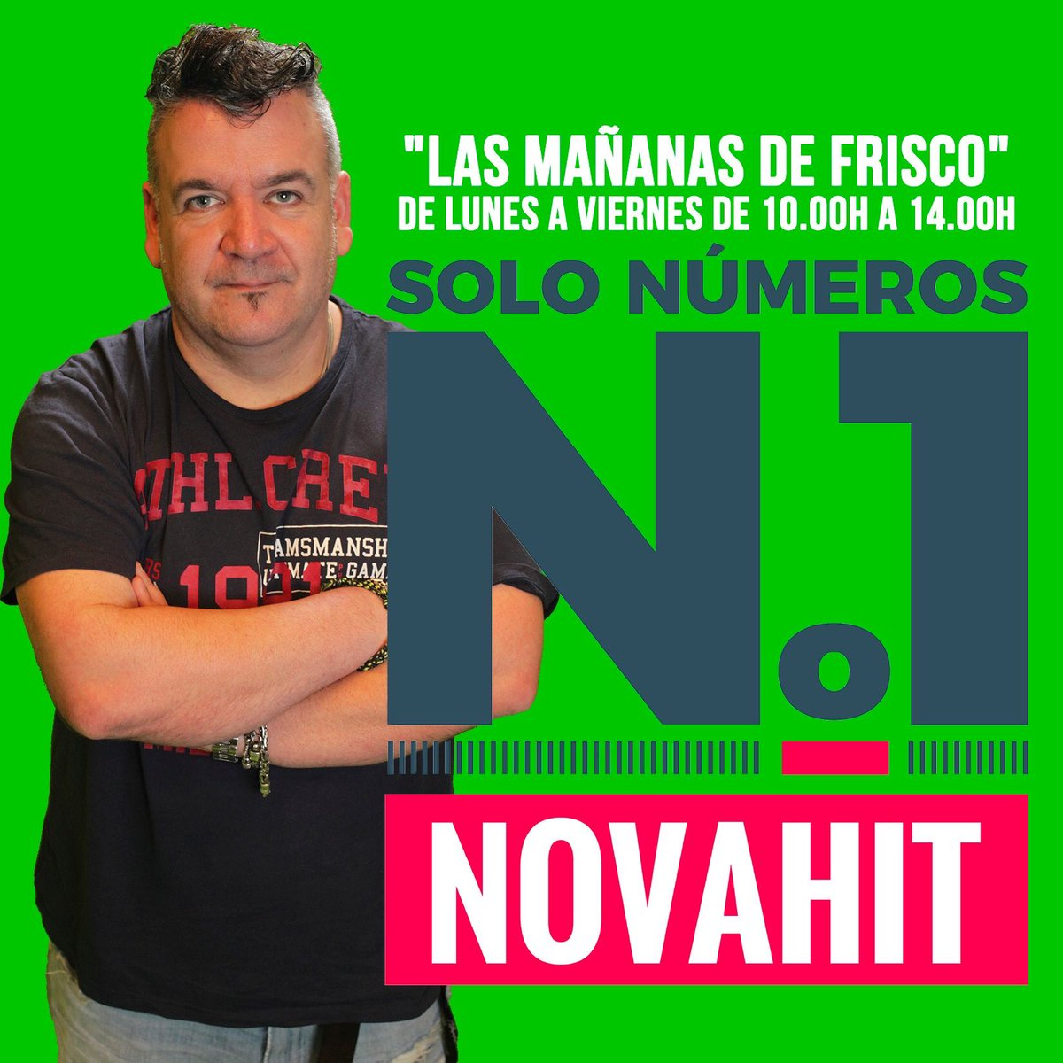 Esta mañana en @NovaHit_ @REYKON @Residente @ReikMx @soyRayden @SFDKoficial @PrinceRoyce @pedrocapo @LadyGagaSpain @DuaLipaESP @donpatricio_ofi @palomamamicl @pabloalboran @PabloLopezMusic @LOQUILLOoficial @HombresG @manaoficial @natalialacunza @monlaferte os esperan https://t.co/js8dFaxcAp