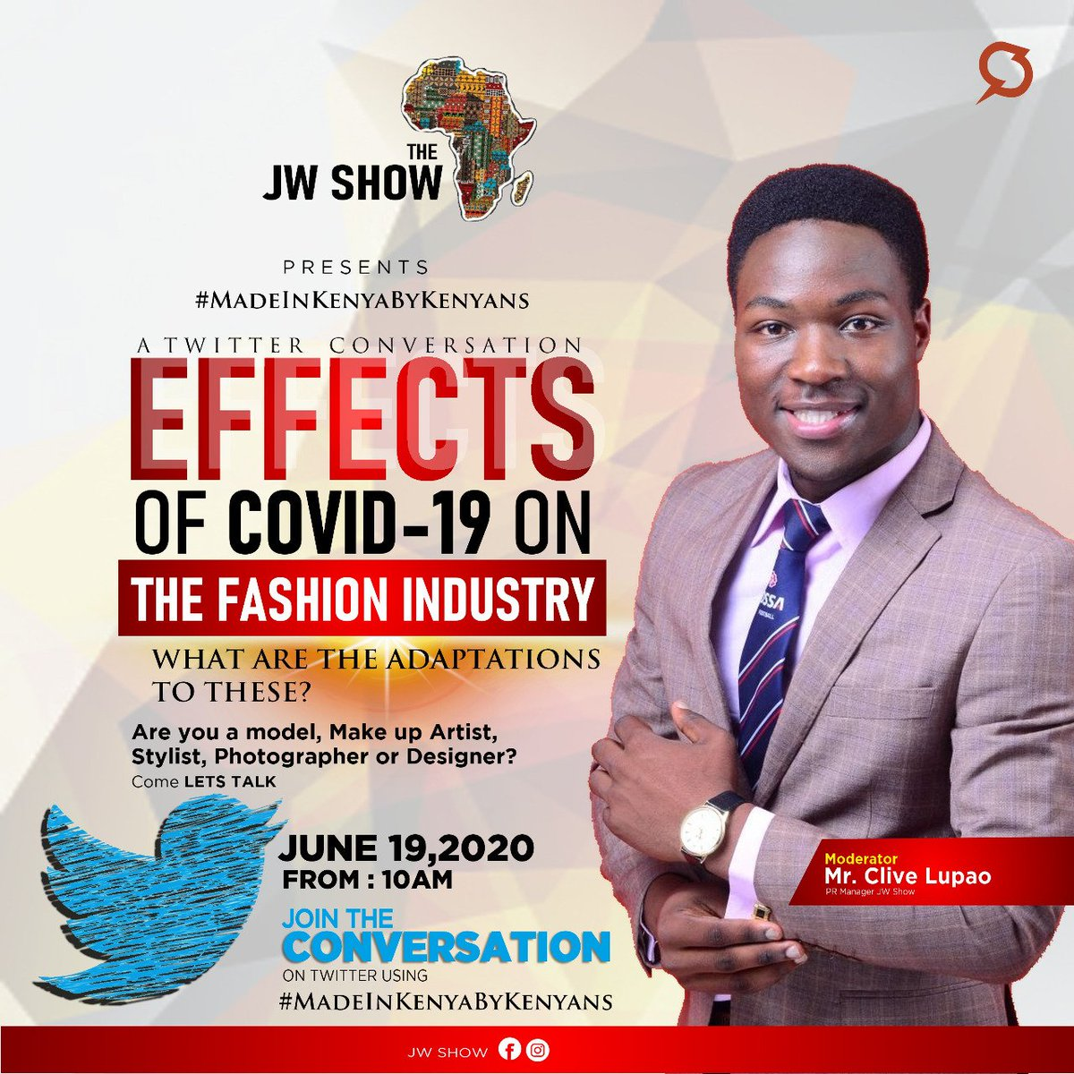 The Jw Show Kenya On Twitter The Corona Virus Has Hugely Affected The Kenyan Fashion Industry Due To Cancellation Of Fashion Events And Disruption Of The Supply Chain For Key Industry Raw