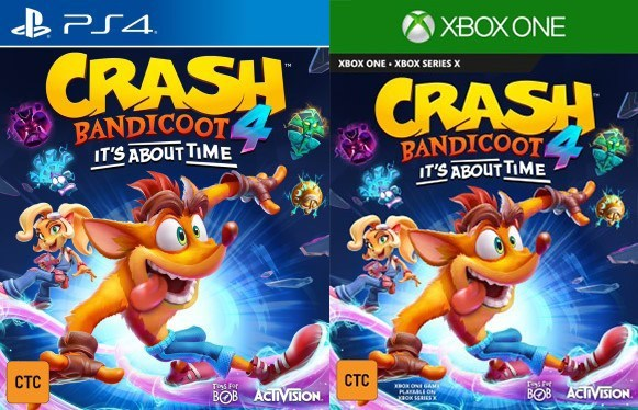 Gematsu On Twitter Crash Bandicoot 4 It S About Time Rated For Ps4 Xbox One In Taiwan Https T Co Brn89xmnwc It is a part of the remake of crash bandicoot: gematsu on twitter crash bandicoot 4