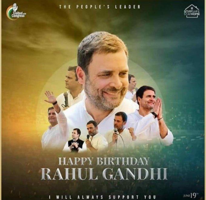Happy Birthday to u Rahul Gandhi sir