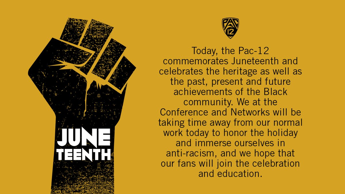 Learn & educate. Honor & celebrate.  #Juneteenth https://t.co/NX0dWIoMAX