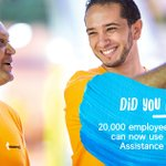 Image for the Tweet beginning: Our employee assistance programme is