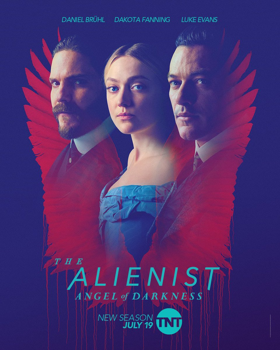 Looks like you'll be seeing us even sooner than anticipated. #TheAlienist: Angel of Darkness is now premiering July 19. Watch it on @TNTDrama bring on the binge!!! https://t.co/qQjptFZrh3