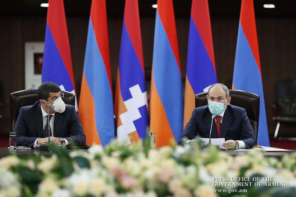 Говоря о стабильности, безопасности зоны карабахского конфликта, по сути, говорим о безопасности и стабильности всего нашего региона, и в этом плане #Армения становится гарантом безопасности не только зоны конфликта, но и всего нашего региона.  https://t.co/pgwsocNqby https://t.co/hhxfE5GvLo