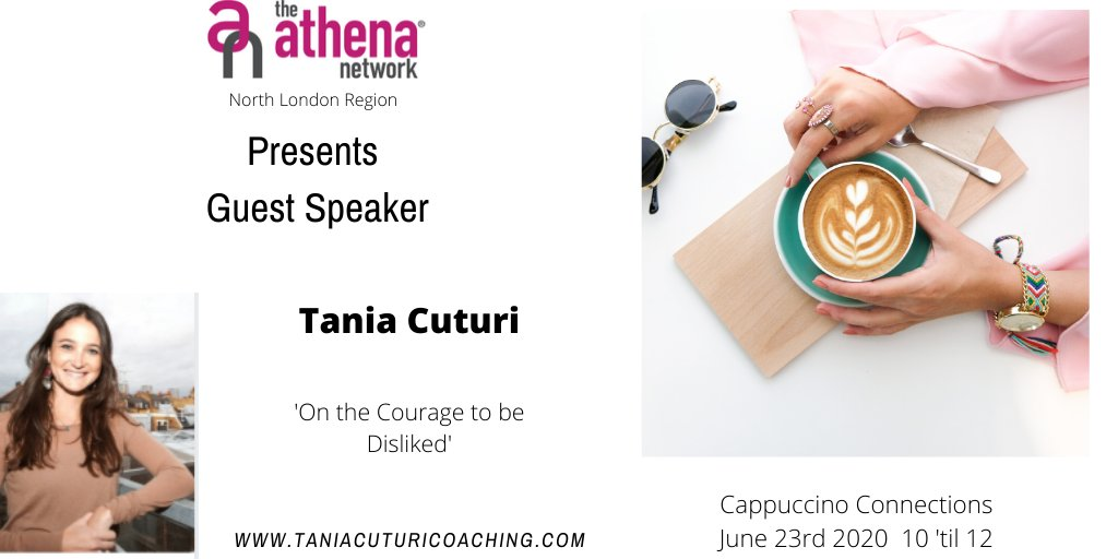 This is your last chance to book on to our next Cappuccino Connections on Tues 23rd  Cappuccino Connections is a great ice breaker for many new to Athena and/or to networking, with guest speaker Tania.  Message me for details.  #networking #womensnetworking #athenanetwork https://t.co/ZPYbxdxlbr
