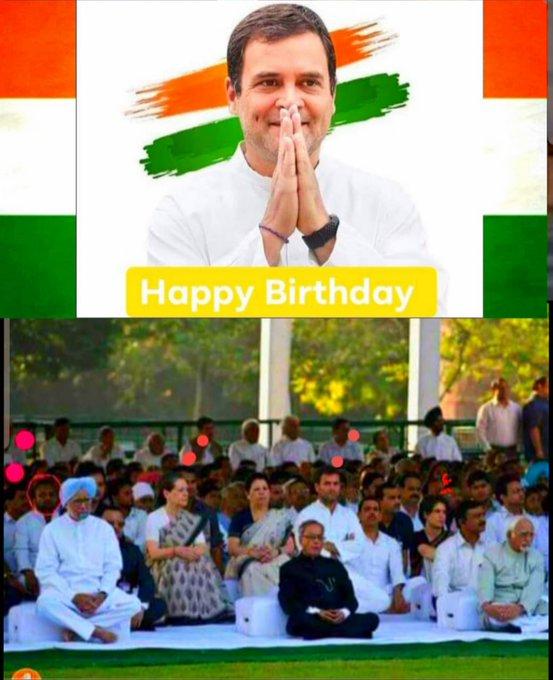 Happy Birthday Rahul Gandhi Ji.....