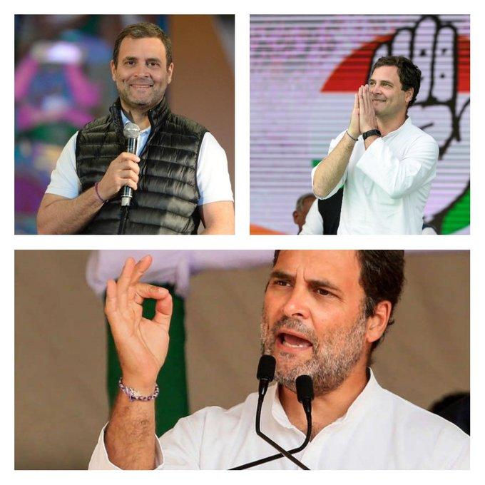 """Happy 50th birthday to India\s \""""Yuva Neta\"""", Rahul Gandhi!!"""