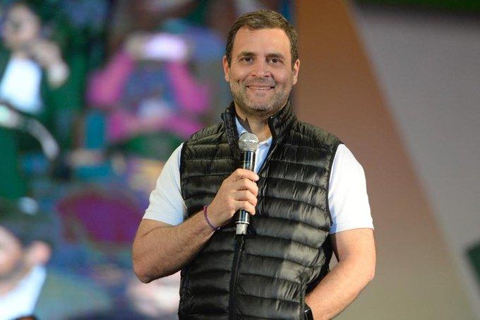 Wish you Happy Birthday Shri. Rahul Gandhi Ji. Whenever I see you, I see hope for my beloved Country.
