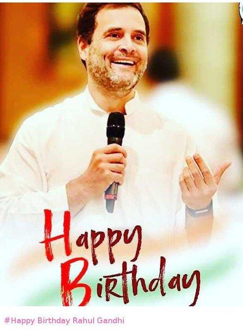 Happy Birthday Rahul Gandhi