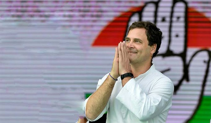 Wish you a very happy birthday   congratulations from Rahul Gandhi