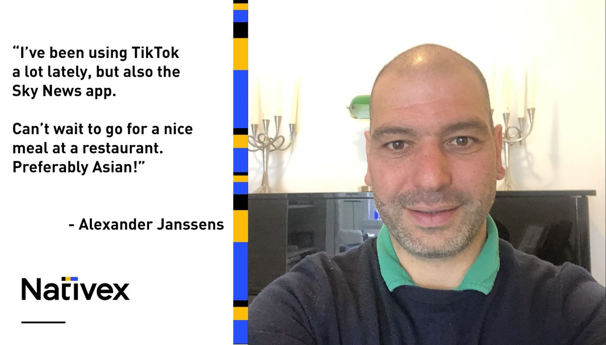 Our next #NativexWFH spotlight is on Director of Client Growth and hardcore #TikTok user Alexander Janssens from our EMEA offices. How is the lockdown treating him so far? Not bad, apparently. https://t.co/zcgzRDPBNw  #WFHLife #HomeOffices #NativexPeople https://t.co/aJ2xLmGSxE