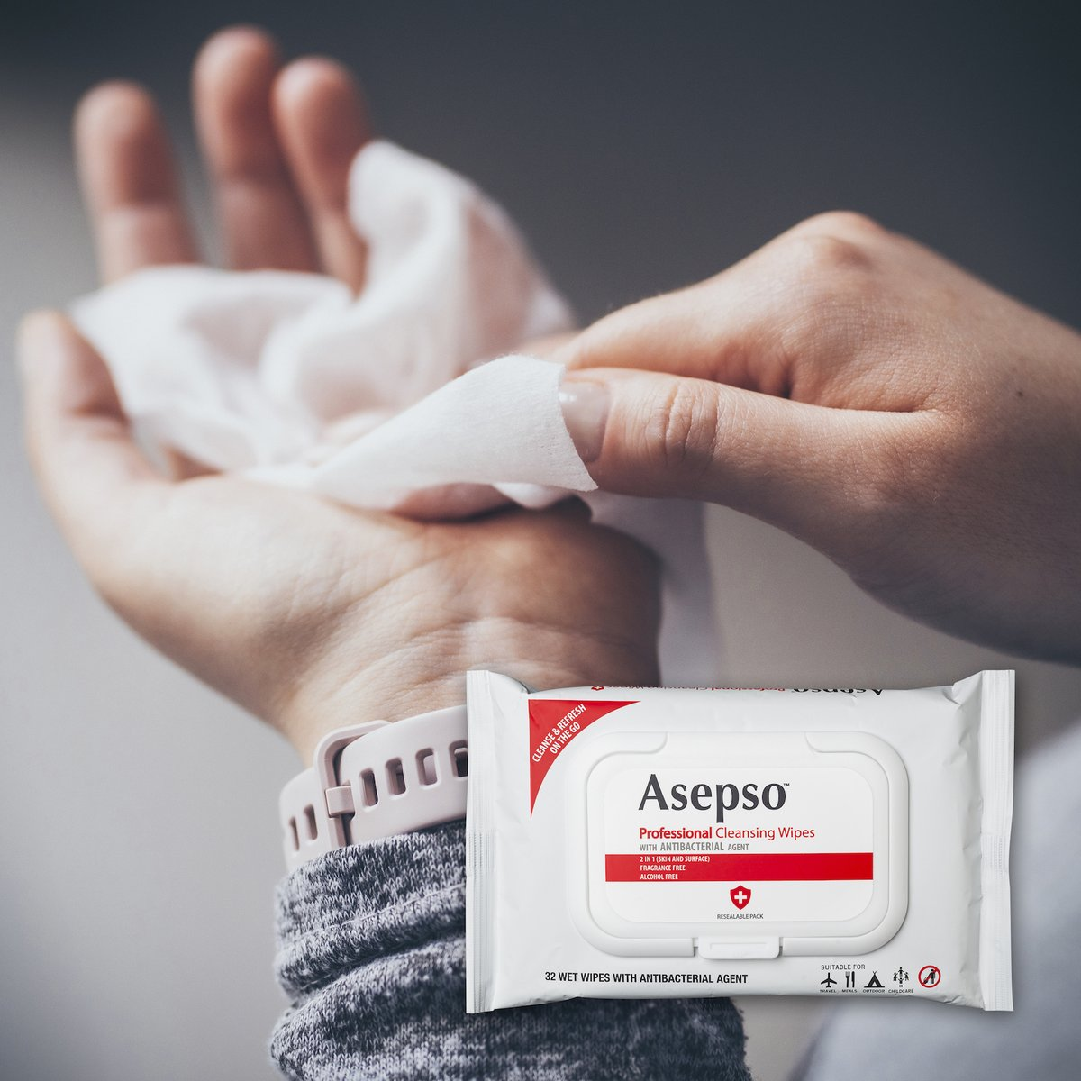 NEW #Asepso Professional Cleansing Wipes https://t.co/dMwmGcVbFT
